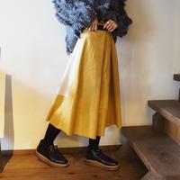 bi-color skirt YELLOW