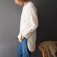 long tail t-shirt  IVORY