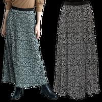 ROP PICNIC (ロぺピクニック) プリーツフラワースカート size38 M~L