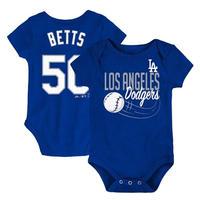 メジャーリーグ ドジャース ベビー キッズ ロンパース 青 1歳 2歳 ギフト Los Angeles Dodgers Romper 送料無料
