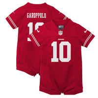 NFL フォーティナイナーズ ベビー ユニフォーム ギフト 出産祝い 0歳 アメフト NFL 送料無料