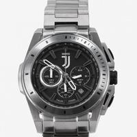 ユベントスFC 腕時計 ZEBRA クロノグラフ シルバー