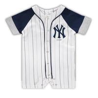 メジャーリーグ ヤンキース ロンパース ベビー キッズ 0歳児 出産祝い New York Yankees Romper ギフト 送料無料
