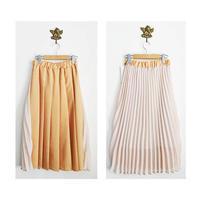 pleats skirt