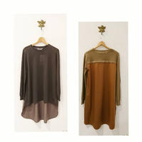Back long pullover