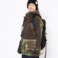 HUMAN Jacket サンプル販売《4WAY DarkBROWN×3D CAMO》