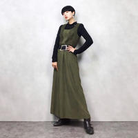 Petressa import vintage khaki dress-553-9