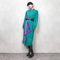Verenu Pluoru green dress-630-10