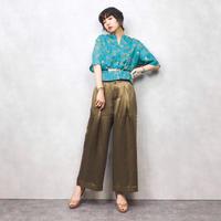 Lilac green shirt-284