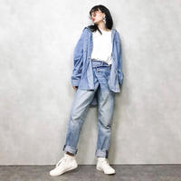 LEVI'S light blue big denim shirt