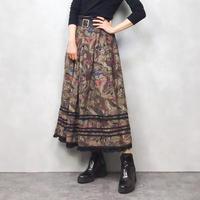 Alphorn flower volume skirt-555-9