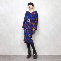 SASCHA tropical rétro dress-686-11