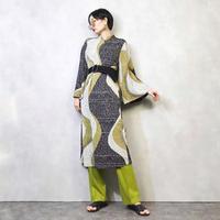 BY HITOSHI undulate crepe dress-921-2