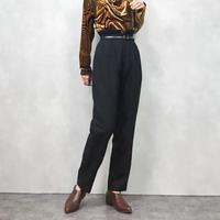 OVER TWENTY high waist wool  pants-821-1