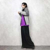 ALPS wool grey knit-661-10