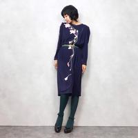 new ROBIN flower design rétro  dress-503-8
