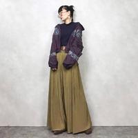 BP purple nylon jacket-668-11