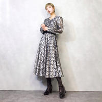 Allenice silver lace classical dress-914-2