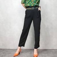 JONES WEAR black tapered pants-360