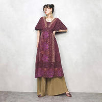 dressbarn winered flower dress