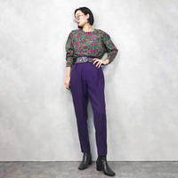 AMIANG purple  flower tops-818-1