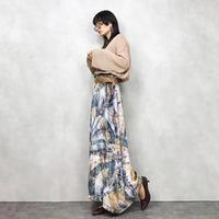 Luster winter maxi skirt-582-9