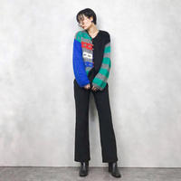 MADE IN ITALY pop design knit cardigan-871-2