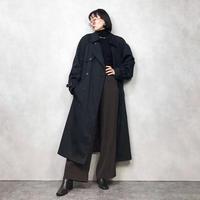 LOMDON FOG dark navy trench coat -787-12