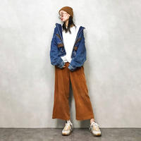 URIBAN EQUIPMENT leather denim jacket-581-9