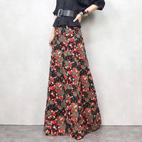 Pedicel black maxi skirt