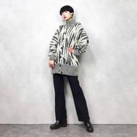 LB. DIFFUSION monotone knit cardigan-795-12