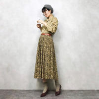 Claude Lema exotic pattern skirt-456-7