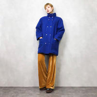 JORD ACHE blue wool coat-826-1