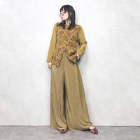 FOREST brown pattern shirt-505-8