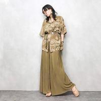 VI.SEREENO brown shirt-394-7