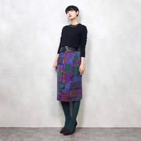 Art design straight skirt-597-10
