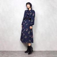 Classical flower rétro dress-565-9