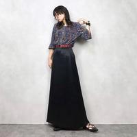 Jean Dore Palais maxi black skirt-573-9