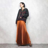 NORDIC DESIGN flower knit cardigan-846-1