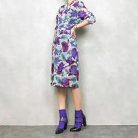 LANCETTI rétro flower dress-475-8