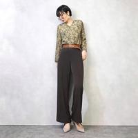 LAURA ASHLEY see-through sleeve tops-895-2