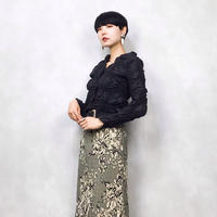 Anne Fontaine PARIS black shirt-478-8