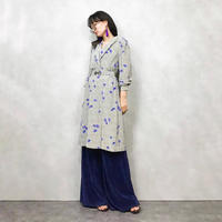 couture FUKAYA blue flower one piece-384-7