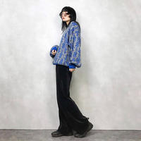 BADGE  blue nordic knit-638-10