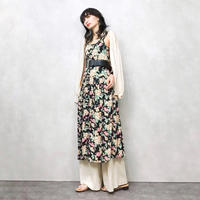 Flower gather import dress-314