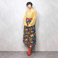 Palette paints long skirt