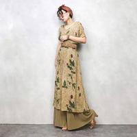 CASUAL CORNER&CO rose import dress-463-8