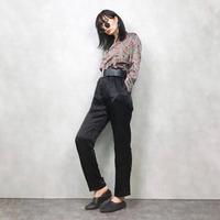 Ylealthy silk pattern shirt