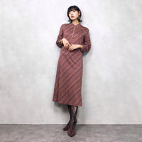Beans pattern china dress
