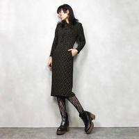 J.FWOOD  brown china dress-563-9
